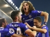 Eden Hazard přispěl Chelsea dvěma góly k debaklu Evertonu 5:0, Manchester City ztratil body s Middlesbrough
